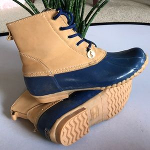 Sporto Duck shoe ankle boot